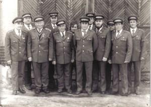 Historická fotografia hasičského zboru
