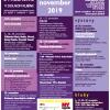 Prehľad podujatí november 2019