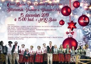 Vianočné trhy obec Babín