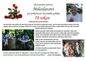 Miloslav prianie