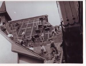 Rekonštrukcia strechy kostola